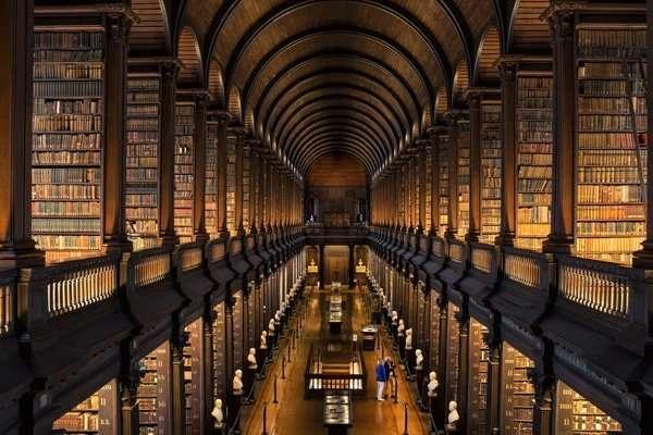 Trinity College Bibliothek, Dublin