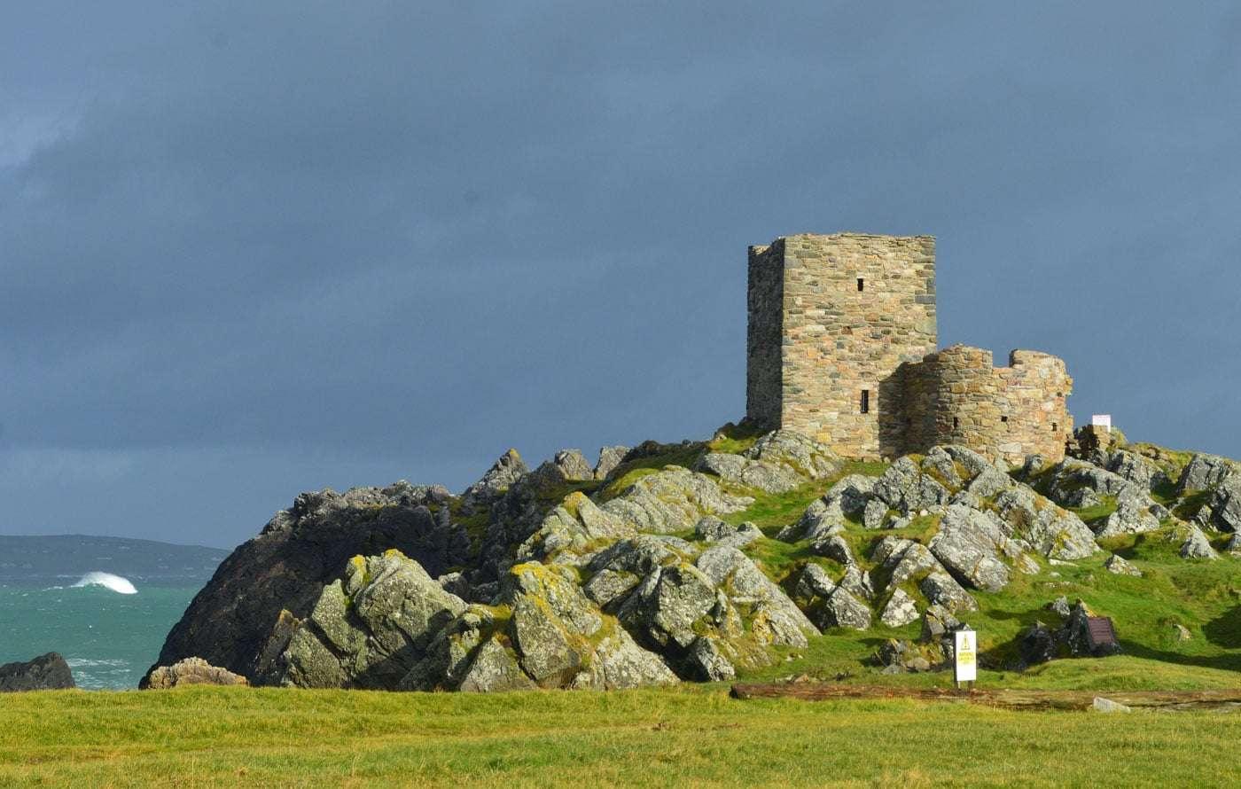 Carrickabraghy Castle - Irland