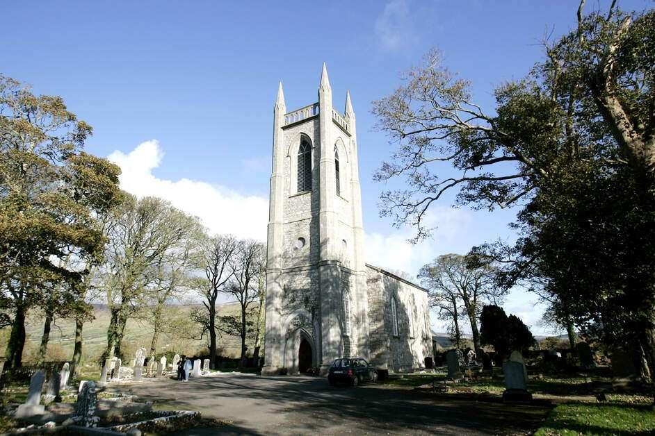 William Butler Yeats Grab - Drumcliff - Irland