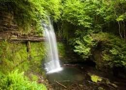 Glencar Wasserfall - Irland
