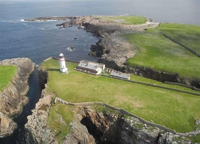 Rathlin O'Birne Insel - Irland