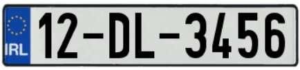 Autonummern Irland