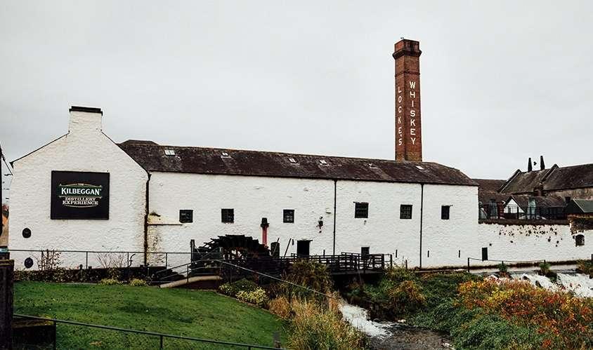 Kilbeggan Locke Whiskey Brennerei - Irland