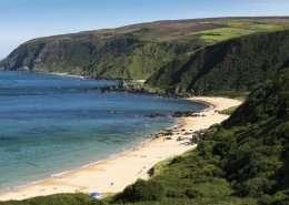 Kinnagoe Bay Strand - Irland