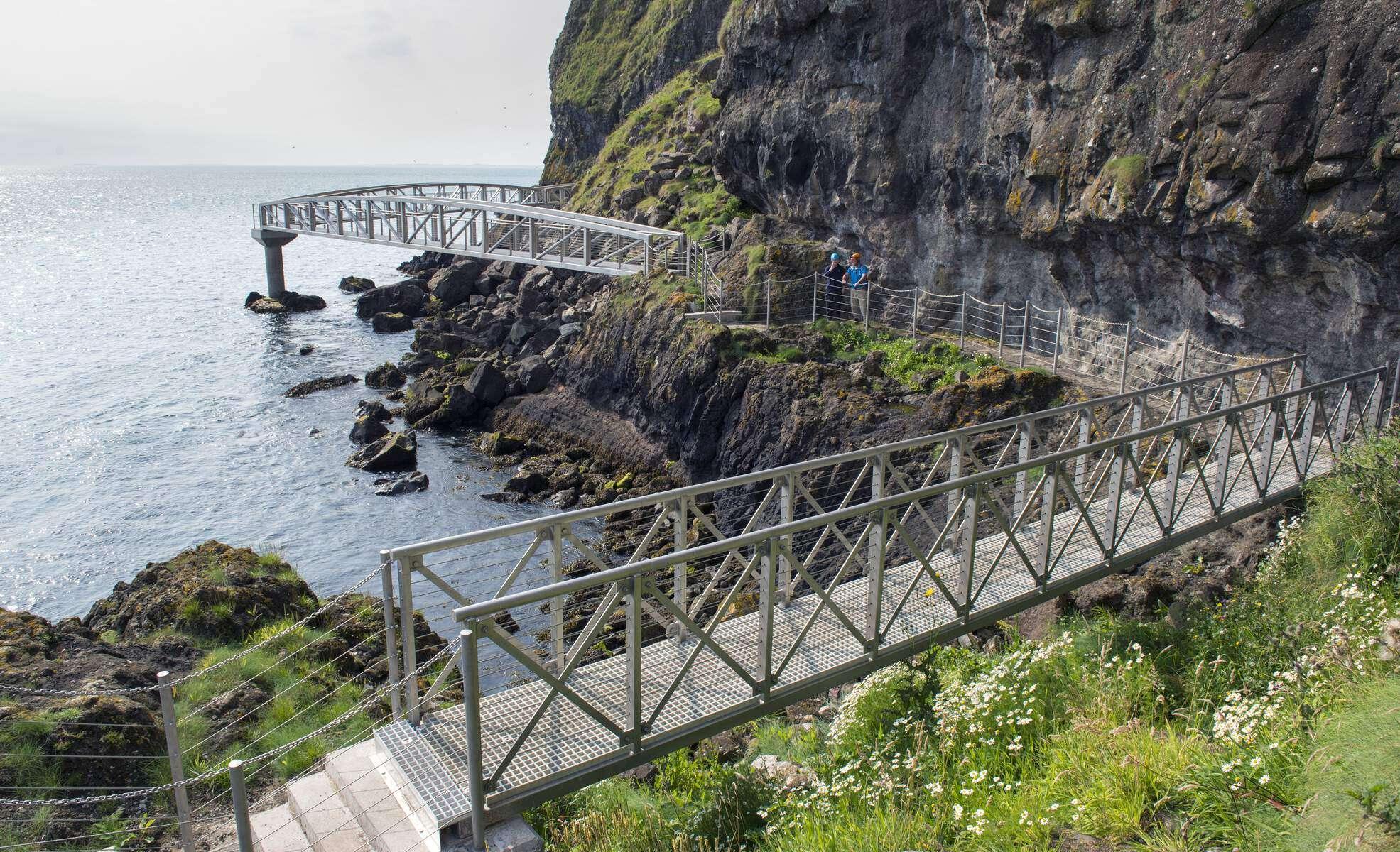 The Gobbins Klippenpfad - Irland - Nordirland