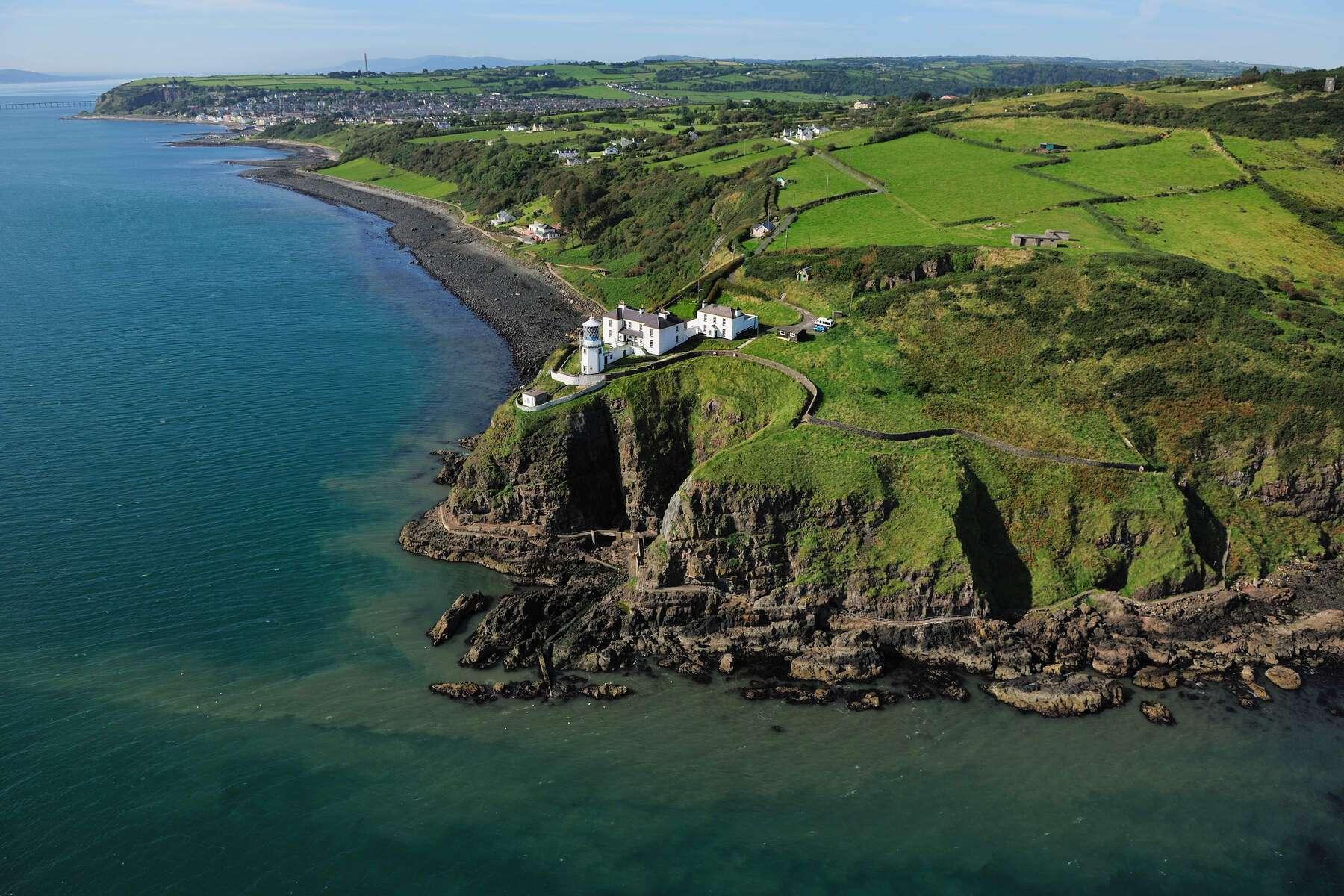 Blackhead Leuchtturm - Irland