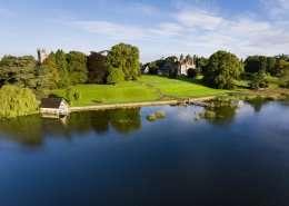 Castle Leslie Anwesen - Irland