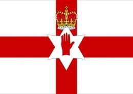Unoffizielle Nordirland Flagge - Irland